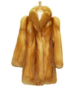 how to ship fur coat
