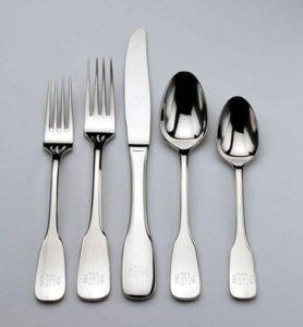 Ship silverware