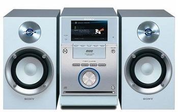 Ship a home audio system