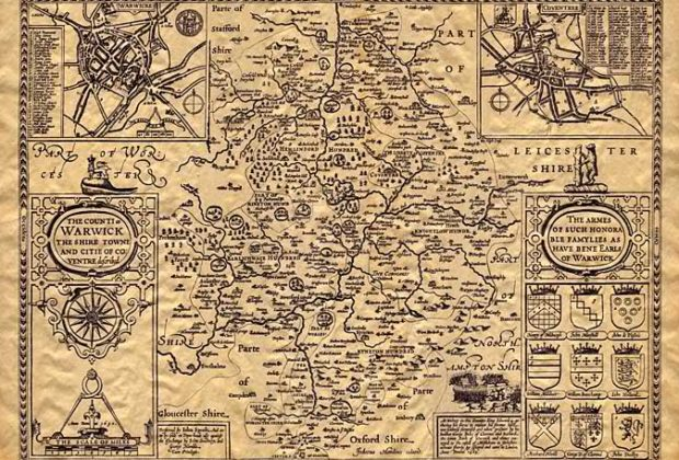Ship Antique Maps