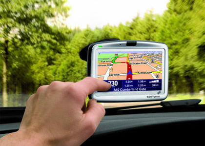 Ship a Portable Auto GPS Unit