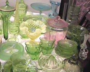 Ship Depression Glass