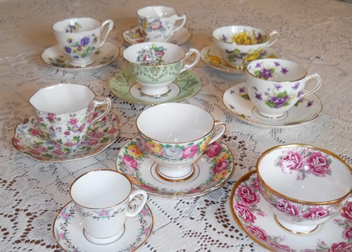 Ship tea cups
